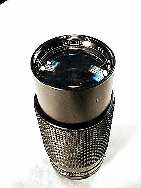 70-210mm f4.0 No Name Zoom for Canon FD