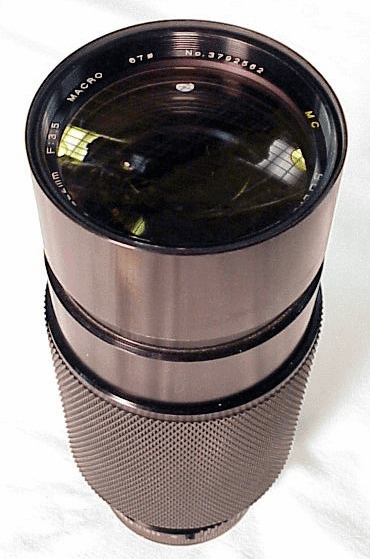 70-222mm f3.5 Macro Soligar for Canon FD