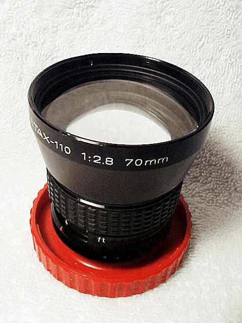70mm f 2.8 Telephoto Lens for Pentaxt 110  (No 43)