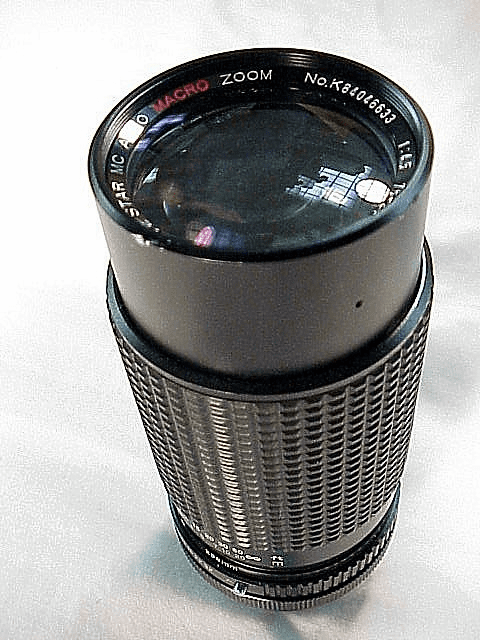 75-200mm f4.5 TOU/FIVE STAR lens for Canon FD