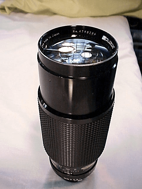 78-210mm f3.5 Soligar for Minolta MD