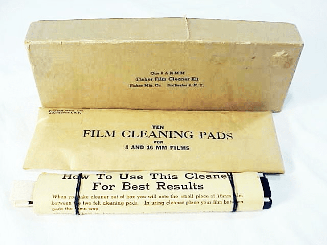 8/16mm Film Cleaning kit (new)