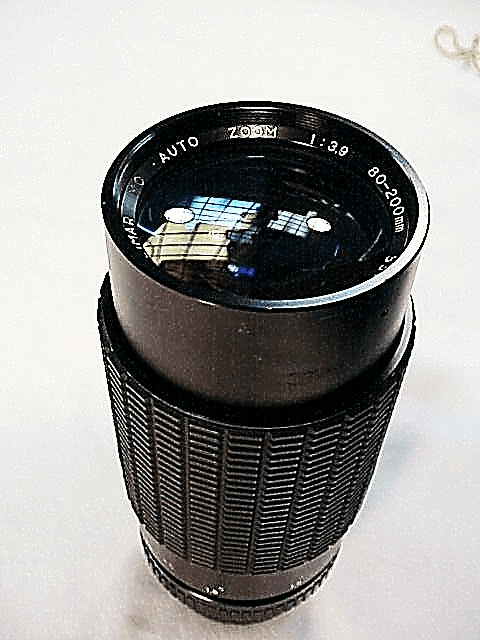 80-200mm f3.9 Kalimar Lens for Contax/Yashica Cameras