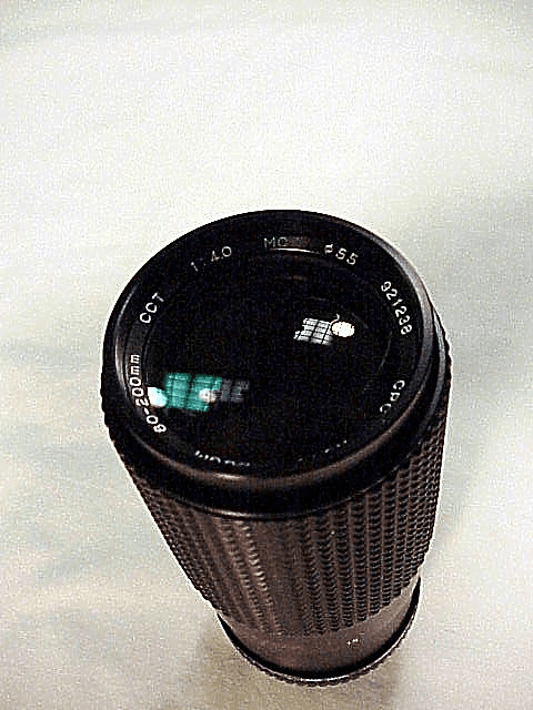 80-200mm f4.0 CPC Zoom Lens for Pentax Screw Mount
