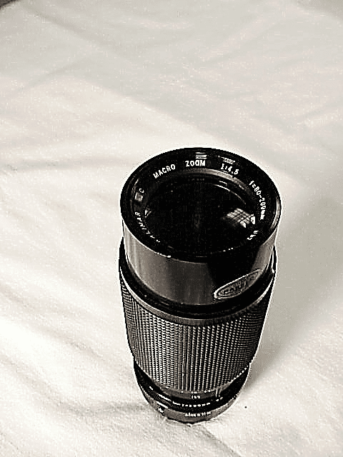 80-200mm f4.5 Kalimar Brand Lens for Konica