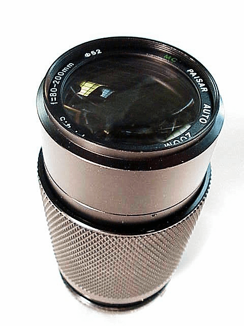 80-200mm f4.5 Paisar Brand Lens for Minolta MD