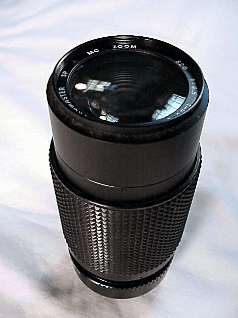80-200mm f4.5 Promaster Brand Lens for Konica