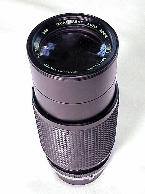 80-200mm f4.5 Quantary for Olympus