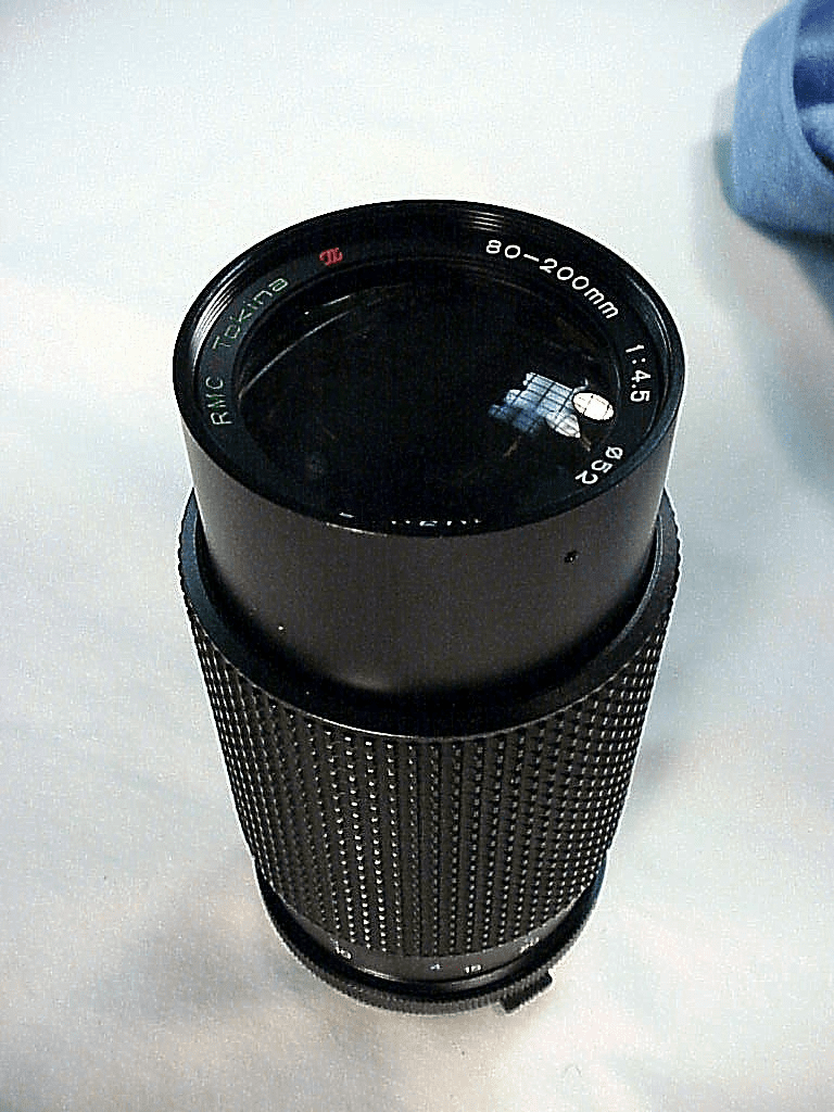 80-200mm f4.5 Tokina Lens for Olympus