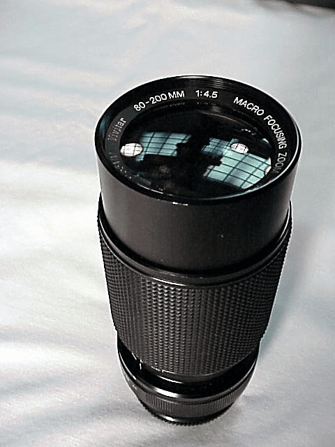 80-200mm f4.5 Vivitar Brand Lens for Konica