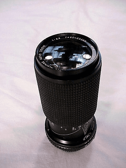 80-200mm f5.5 Albinar for Minolta MD