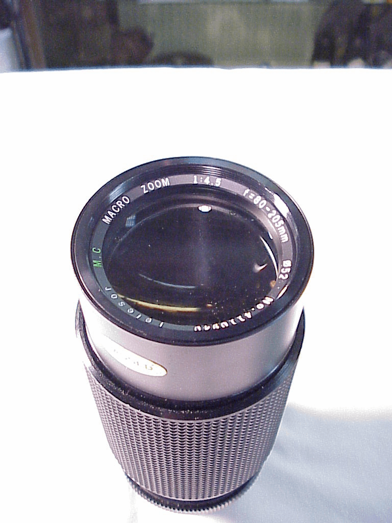 80-205mm f4.5 Telesor Macro for Minolta MD