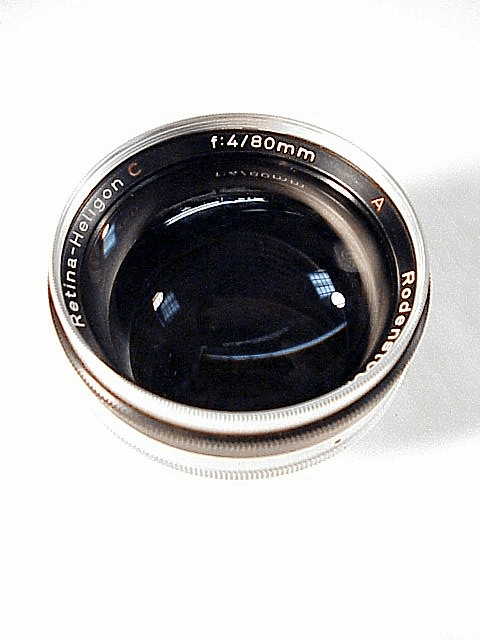 80mm f4 Heligon C fits Retina Big C or...