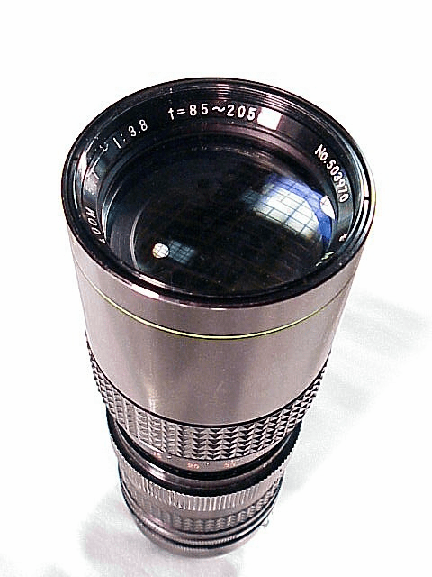 85-205mm f3.8 Rexatar for Minolta MC