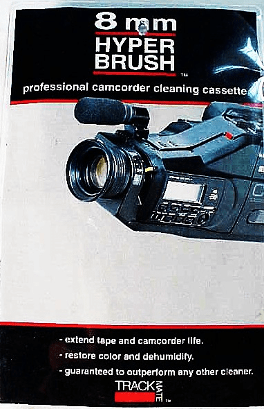 8mm Camcorder Cleaning Cassette with Solution (new)