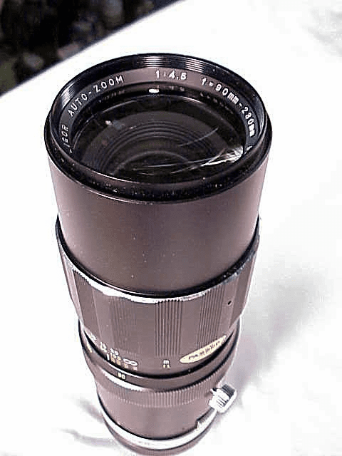 90-230mm f4.5 Soligar Lens for Canon FD