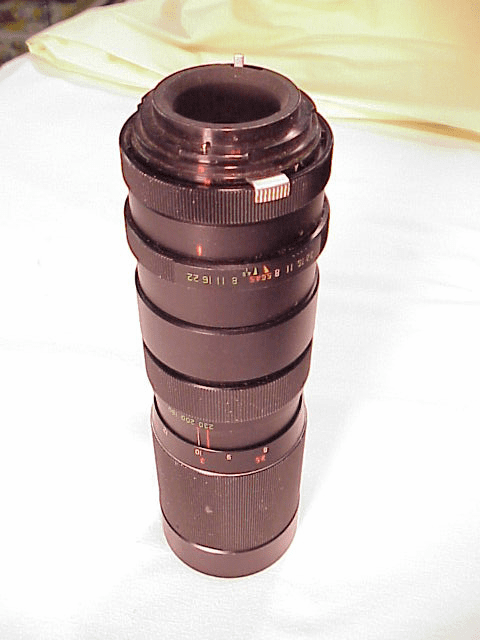 90-230mm f4.5 Vivitar Lens for Petri Bayonet Mount
