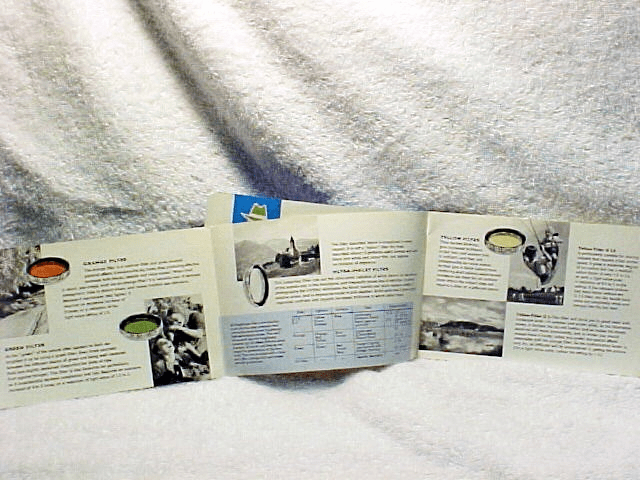 Accessories Pamphlet for Voigtlander Vitessa (Xerox Copy)