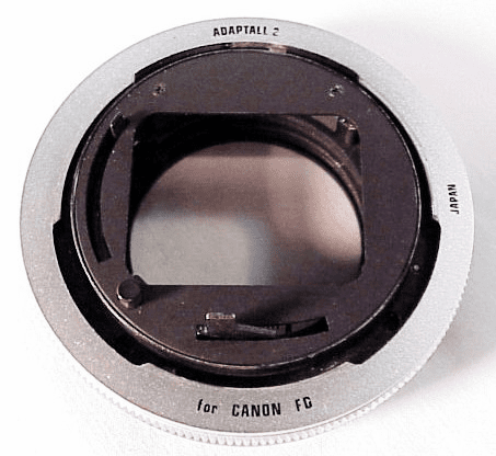 Adaptal 2 Canon FD Mount (No 29)