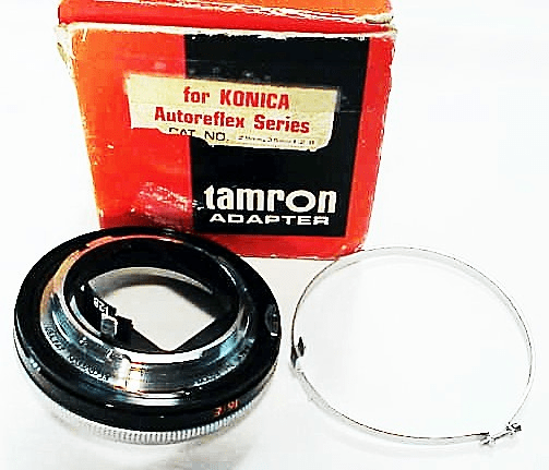 Adaptall Mount for 28mm f2.8 or 35mm f2.8 Tarmon Adaptall (No 5A)