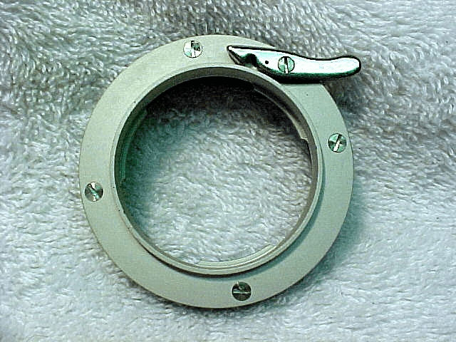 Adapter Ring for Mounting Contax IIa/IIIa Lenses on Enlargers