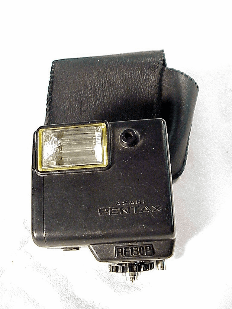 AF130P Flash with case  for Pentax 110 (No 34)