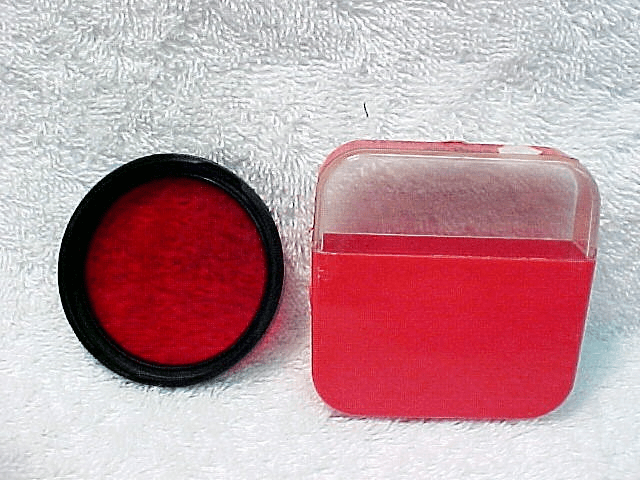 B50 Red Filter for Zeiss Icarex Cameras