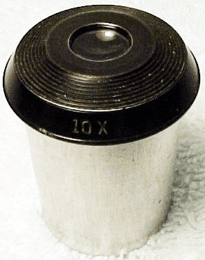 Bausch and Lomb 10X eyepiece (No 14)