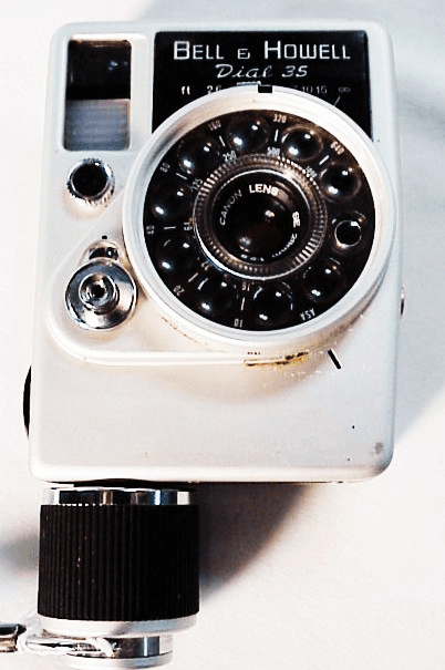 Bell and Howell Dial 35 half frame camera