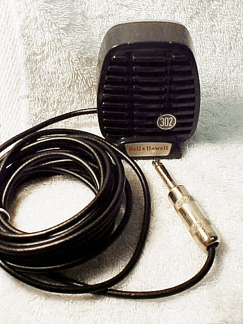 Bell & Howell Ceranic Microphone Model CA80C
