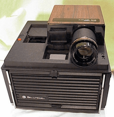Bell & Howell Cube Projector