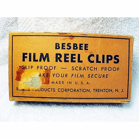 Besbee 16mm Film Reel Clips (to hold your film secure) (No 9)