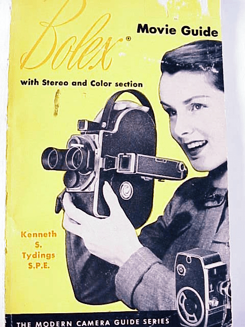 Bolex Movie Guide K Tydings 128pg 1956 (original)