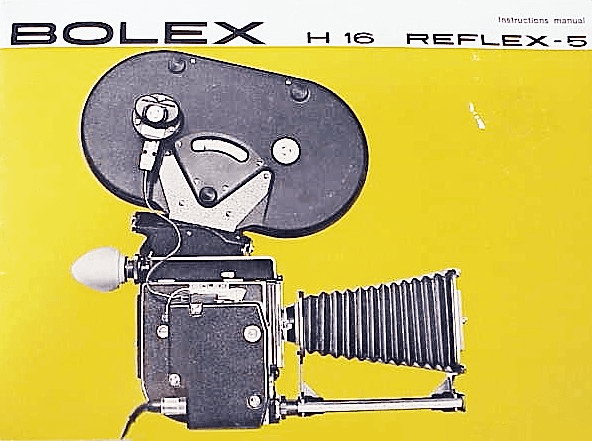 Bolex Reflex-5 Instruction Book 16pg (xerox)