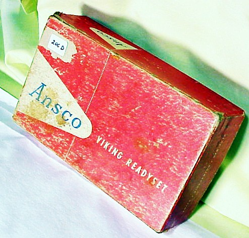 Box for Ansco Viking and Instructions (206D)