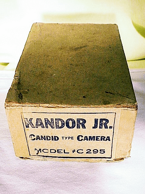 Box for KANDOR JR Candid Type Camera Model #C295