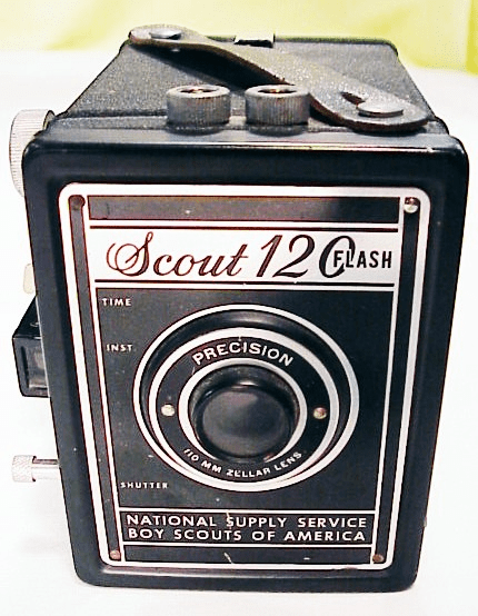 Boy Scout 120 Flash Camera (film is available)