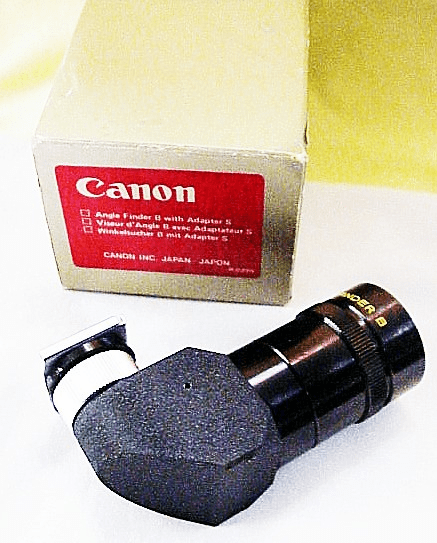 Canon Angle Finder B for A Series Cameras