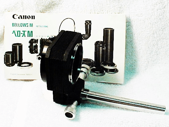 Canon Bellows M with original instructions
