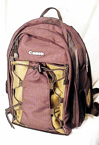 Canon Camera Backpack (No 57)