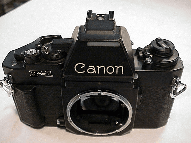 Canon F1 Electronic Camera