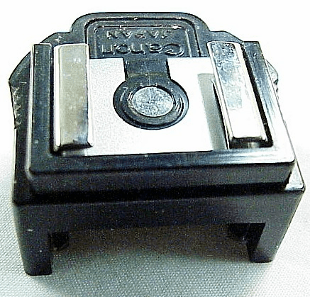Canon F1 Mechanical Flash Coupler D