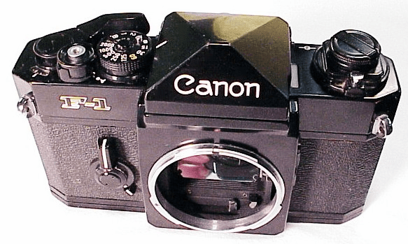 Canon F1 Mechanical  w/ Technical Grid Screen