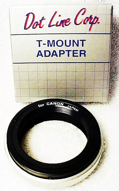 Canon (FD style) T mount (new) (No 9)