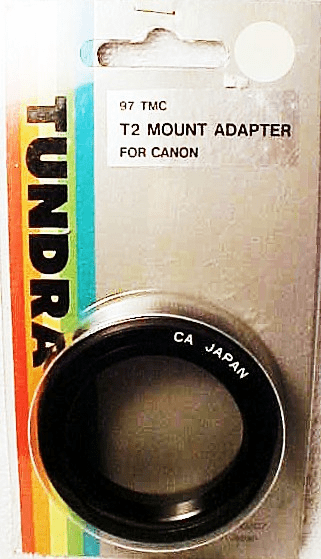 Canon (FD style) T mount  (No 2)