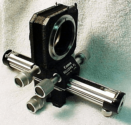 Canon FL Macro Bellows (use with FD lenses  in manual stop down)