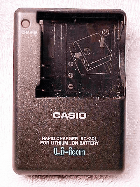 Casio Charger BC30L for NP40 Batteries