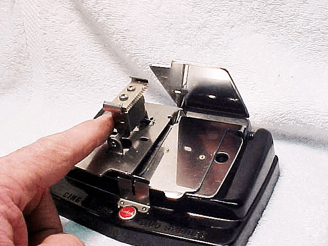 Cine-Kodak Duo Splicer for 8/16mm Cement Type with built in cutter  (No 2)