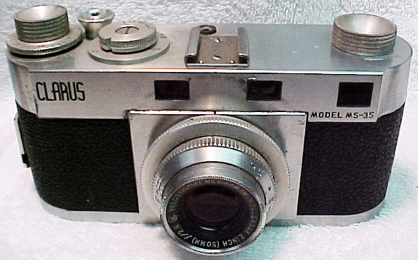 Clarus MS-35 with 50mm f2.8 Wollensak Coated lens