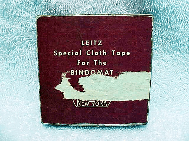 Cloth Tape for the Binomat E Leitz New York